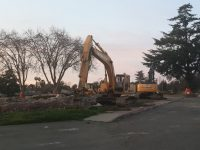 All building have now been demolished at the old Sylvan Middle School property at Sylvan Corners. // CH Sentinel