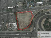 A map included in planning commission documents indicates the proposed area for a new Quick Quack Car Wash in Citrus Heights. // Courtesy, City of Citrus Heights