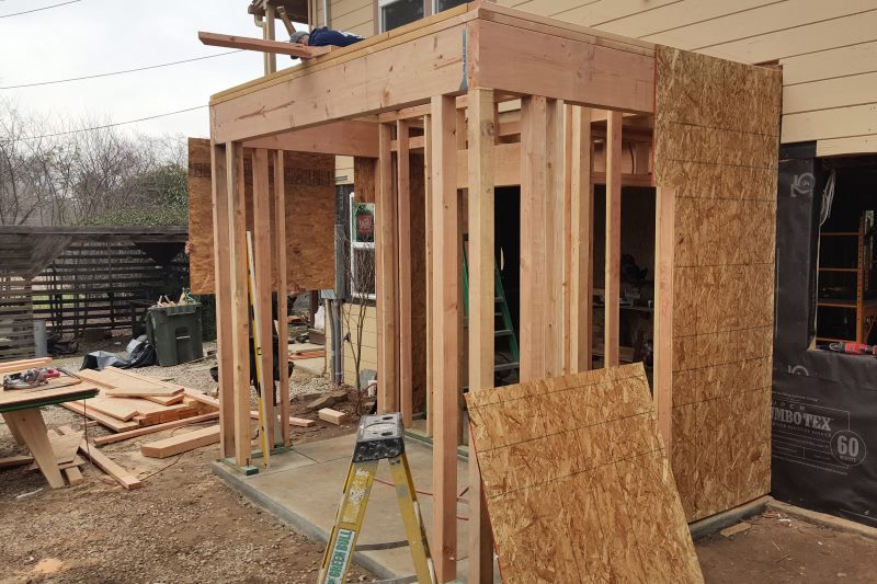 Construction, garage conversions