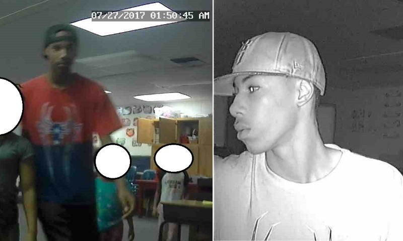 Burglary suspects, church burglary, citrus heights