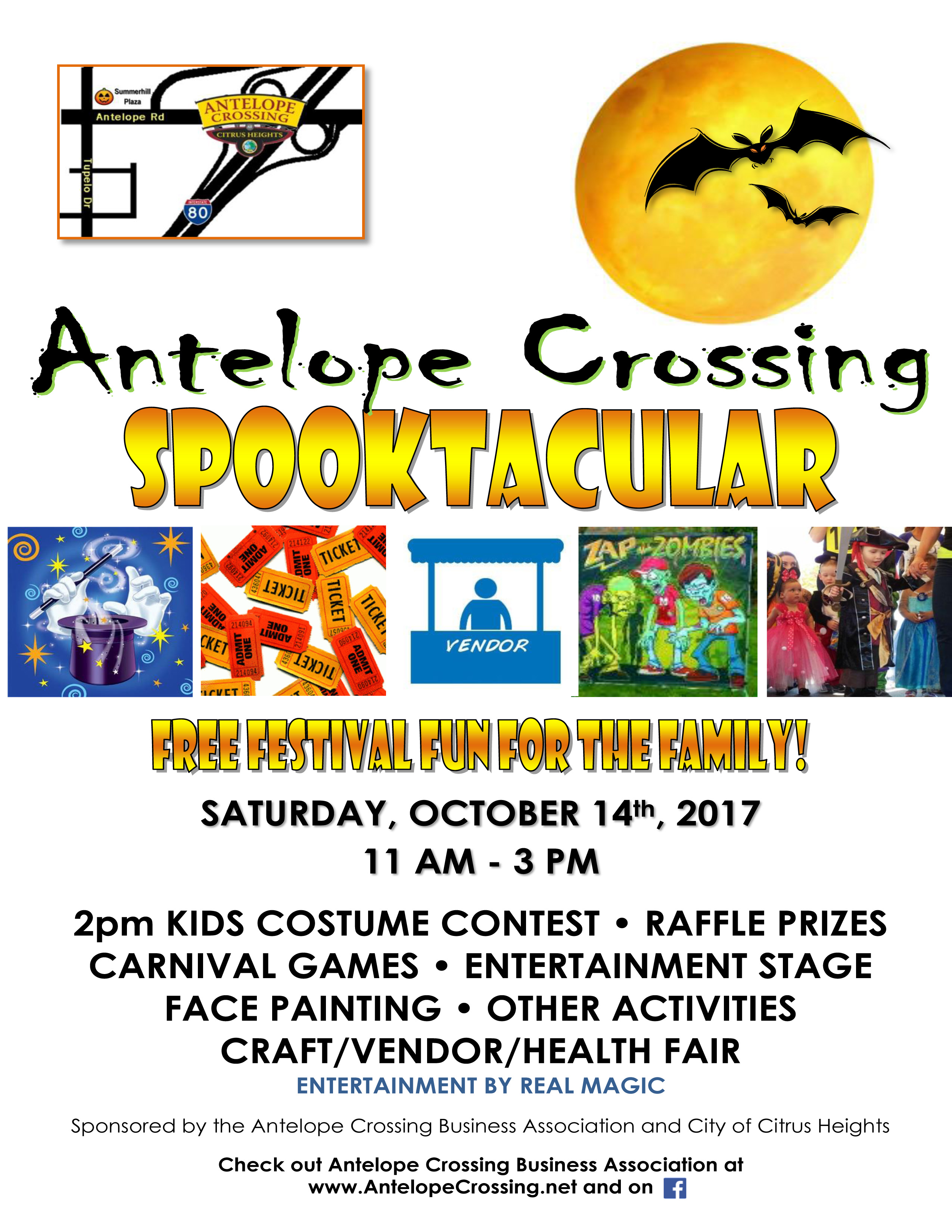 Free Halloween Events Near Citrus Heights 2020 9th Annual Antelope Crossing Spooktacular 2017   Citrus Heights