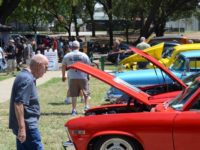 About 100 cars were set up in Rusch Park as part of the 2017 Hot August Bites event. // CH Sentinel