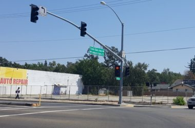 Twin Oaks Plaza, Citrus Heights, vacant lot