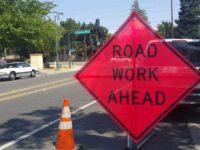 File photo, roadwork ahead. // CH Sentinel