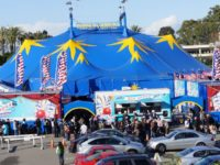 A massive big top will be set up outside Sunrise Mall in Citrus Heights for Circus Vargas. // Archive photo, courtesy Circus Vargas