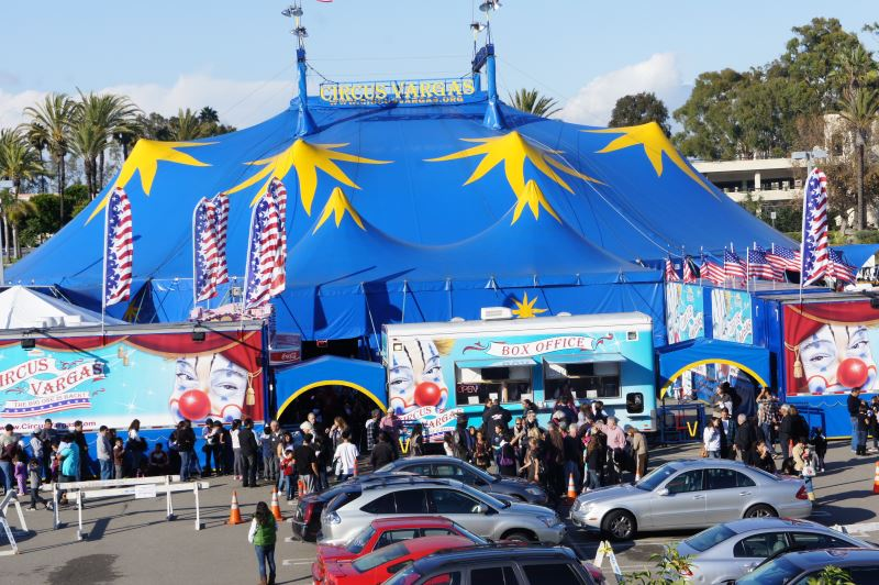 Circus Vargas, Citrus Heights