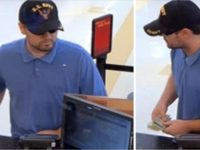 Citrus Heights police released these surveillance images of a suspected bank robber at Wells Fargo on Lichen Drive.