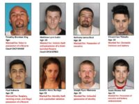 Citrus Heights police released an updated most-wanted list of eight suspects on Sept. 20, which featured the addition of four new faces. // Image credit: CHPD