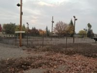 The former site of Abel's Christmas Trees at 7424 Sunrise Blvd. now lies dormant. // CH Sentinel
