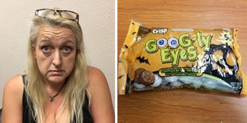 Police: Citrus Heights drug dealer hid meth in Halloween candy bags