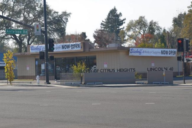 Bischoff's Medical Supply opened Dec. 1 at the corner of Auburn Blvd. and Antelope Rd.