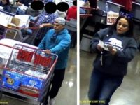 Still images from surveillance footage show a pair of suspects being sought by Citrus Heights police for using counterfeit bills. // Courtesy, CHPD