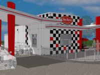 A prototype design submitted to the city gives a visual idea of what's planned for the new Checkers drive-thru on Auburn Boulevard.