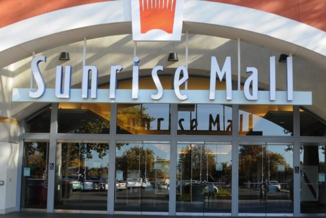 File photo, Sunrise Mall. // Citrus Heights Sentinel