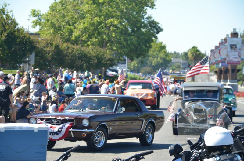 Red, White, Blue Parade, Citrus Heights