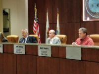 Citrus Heights council members discuss censuring Bret Daniels, right, during a special meeting on June 7, 2018. // CH Sentinel
