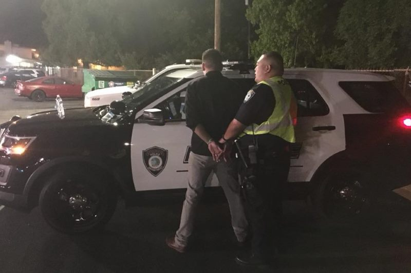 DUI Checkpoint, arrest