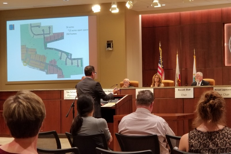 Citrus Heights Planning Commission, Watt Communities, Mitchell Farms