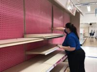 Shelves were completely emptied at Toys R Us in Citrus Heights as it closed its doors for the final time on June 29. // Image credit: Harlan Hite