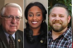 The five candidates who qualified for the 2018 Citrus Heights City Council meeting, from left to right, Steve Miller, Albert Fox, Porsche Middleton, Treston Shull, and Jeannie Bruins.