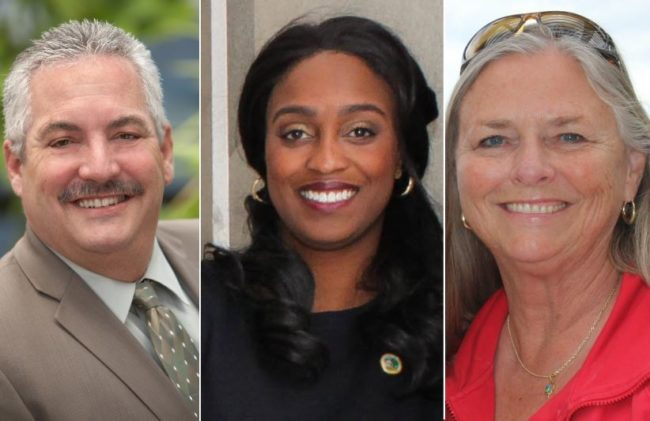 Porsche Middleton, center, will join Mayor Steve Miller and Vice Mayor Jeannie Bruins on the Citrus Heights City Council. All three received the most votes in the Nov. 6, 2018 election.