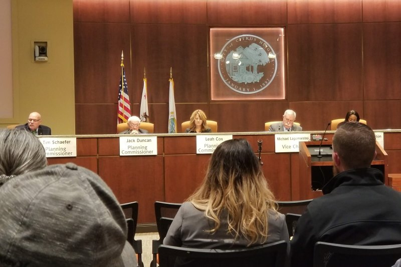 Citrus Heights, planning commission