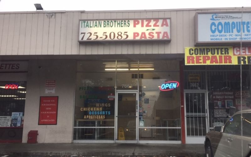 Italian Brothers pizza, Citrus Heights
