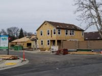 The Mariposa Creek housing development off Antelope Road in Citrus Heights is expected to be completed by May. // CH Sentinel
