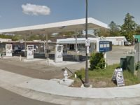 The vacant gas station at 7500 Auburn Blvd. in Citrus Heights will reopen in February. // Image credit: Google Maps