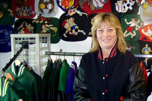 Wendy Hanby is owner of Extreme Stitch Embroidery in Citrus Heights. // Thomas Sullivan