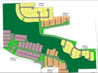 An updated site plan dated Jan. 9, 2019 shows the layout where 260 homes will be built in Citrus Heights. // Image credit: Watt Communities