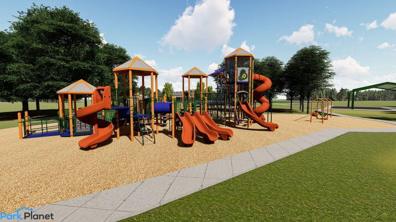 Rusch Park playground