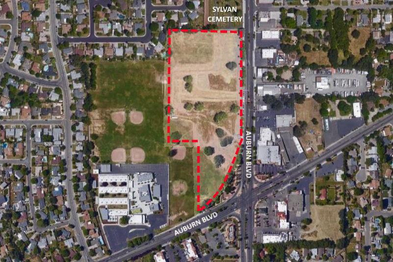 Sylvan Middle School property, sylvan corners