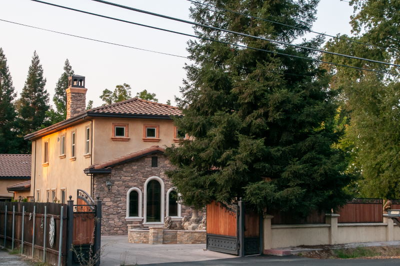 Million-dollar mansion